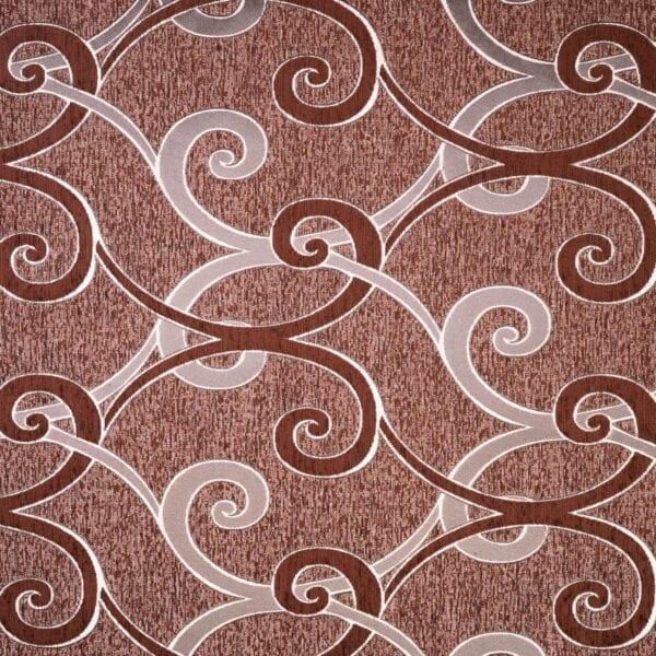 szovetnagyker.hu Kos barna mintás bútorszövet