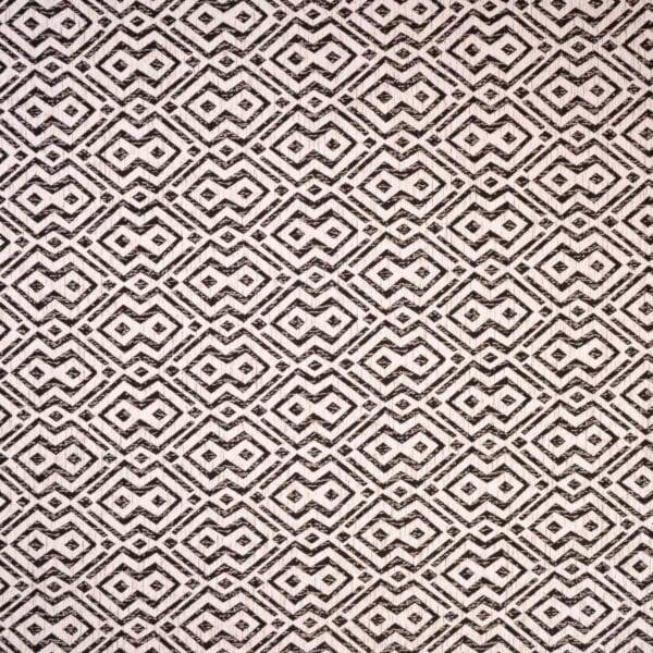 szovetnagyker.hu Klasszikus Rombusz mintázatú fehér zsenília bútorszövet