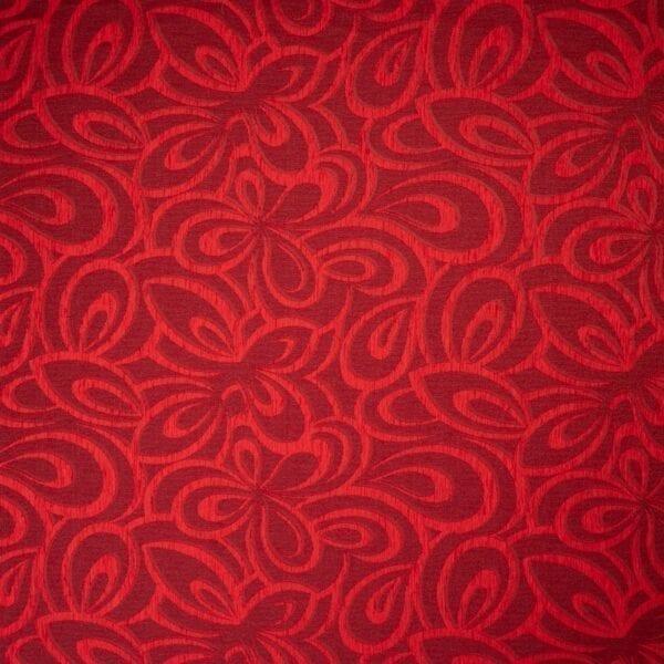 szovetnagyker.hu Bronsen piros mintás bútorszövet