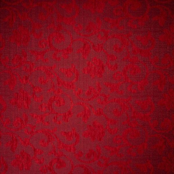 szovetnagyker.hu Verna piros mintás bútorszövet