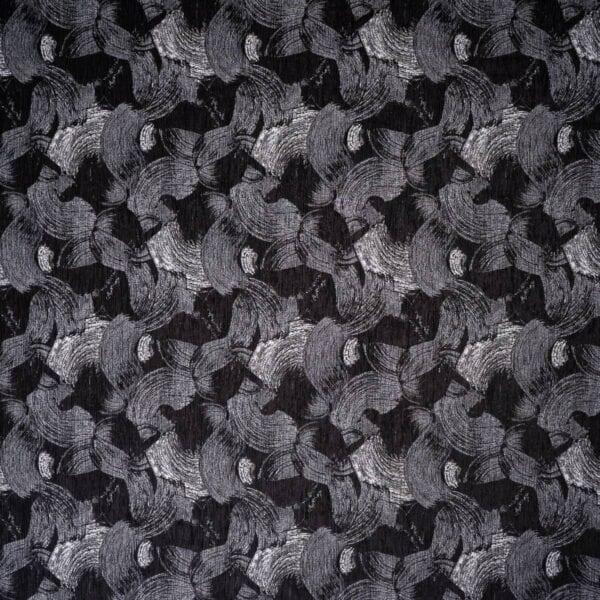 szovetnagyker.hu Victoria fekete mintás bútorszövet