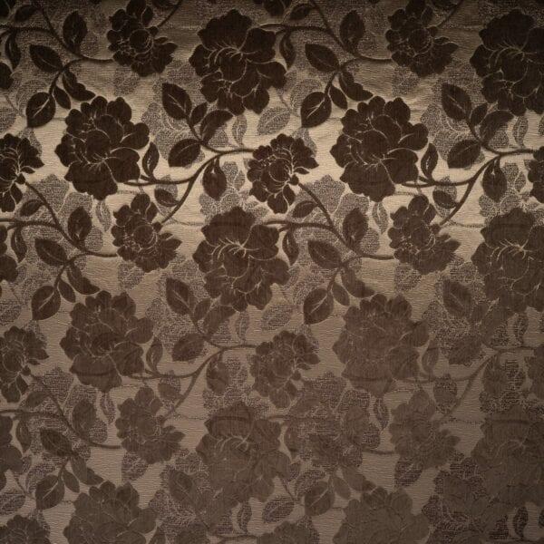 szovetnagyker.hu Tirsa Soft barna mintás bútorszövet